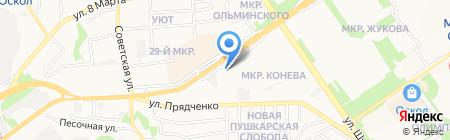 Все Эвакуаторы России на карте Старого Оскола