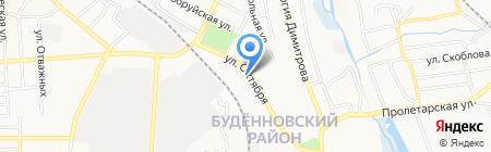 Стройсам на карте Донецка