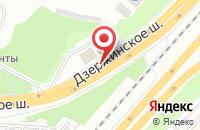 Схема проезда до компании АЗС Нефтьмагистраль в Котельниках