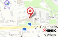 Схема проезда до компании Кузов в Старом Осколе