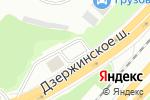 Схема проезда до компании Qiwi в Котельниках