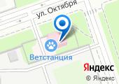 Реутовская городская ветеринарная станция по борьбе с болезнями животных на карте