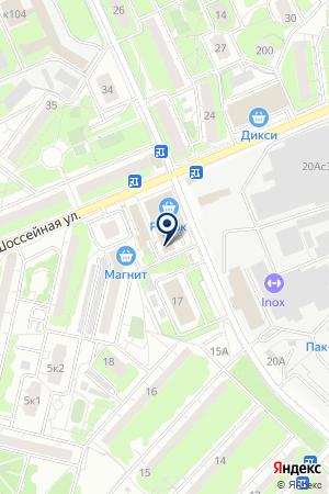 ПРОДУКТОВЫЙ МАГАЗИН САРКИСОВ Н.А. на карте Люберец