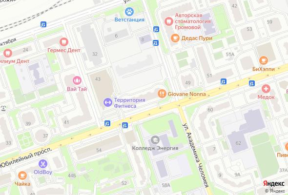 продажа квартир Юбилейный пр-т, 47