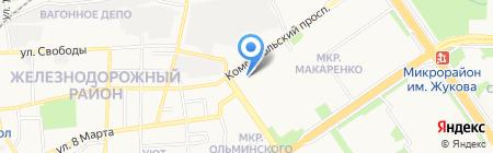 СОЮЗ-1 на карте Старого Оскола
