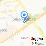 АВС-Электро на карте Старого Оскола
