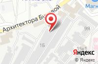 Схема проезда до компании Кока-Кола ЭйчБиСи Евразия в Старом Осколе