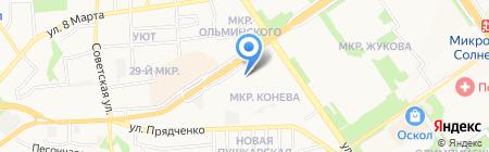 ДОСААФ России на карте Старого Оскола