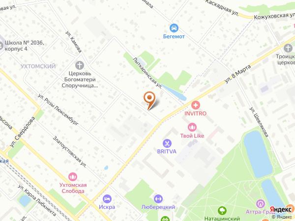 Остановка «Ул. Камова, 28», улица Камова (9081) (Москва)