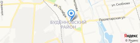 Хозяйка на карте Донецка