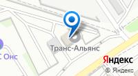 Компания СДЭК на карте