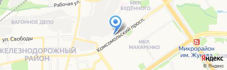 Мясная Русь на карте Старого Оскола