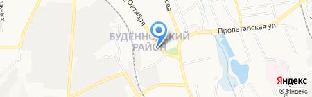 Соблазн на карте Донецка