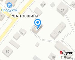 Схема местоположения почтового отделения 141216