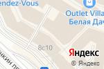 Схема проезда до компании D`S damat в Котельниках