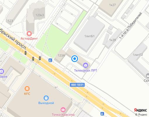 Управляющая компания «ЛГЖТ» на карте Люберец