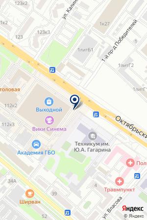 АВТОСАЛОН ТД ТОРГМАШ на карте Люберец