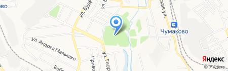 Неолит на карте Донецка