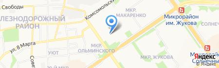 Старооскольский индустриальный техникум на карте Старого Оскола