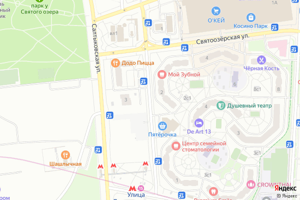 Ремонт телевизоров Улица Наташи Качуевской на яндекс карте