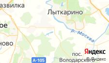 Базы отдыха города Орлово на карте