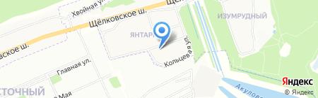 Мастерская по ремонту обуви и изготовлению ключей на Акуловском проезде на карте Балашихи