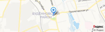 Банкомат АБ Укргазбанк на карте Донецка