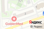 Схема проезда до компании Изуми! в Москве