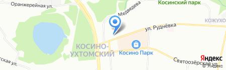 Изуми! на карте Москвы