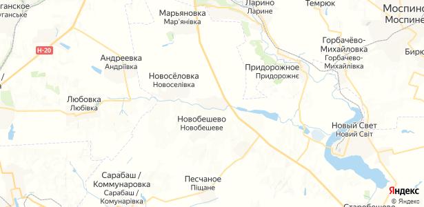 Обильное на карте