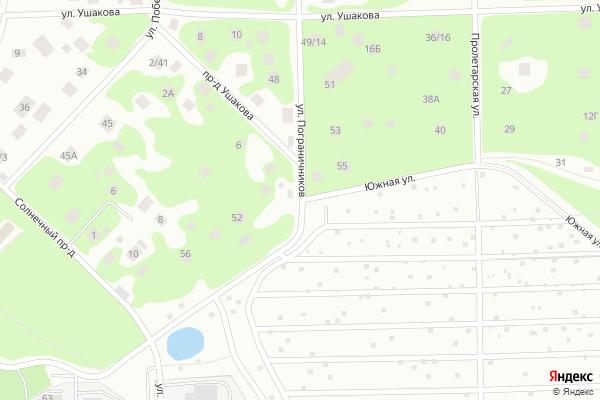 Ремонт телевизоров Улица Южная на яндекс карте