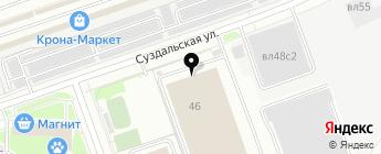 Авто Гид на карте Москвы