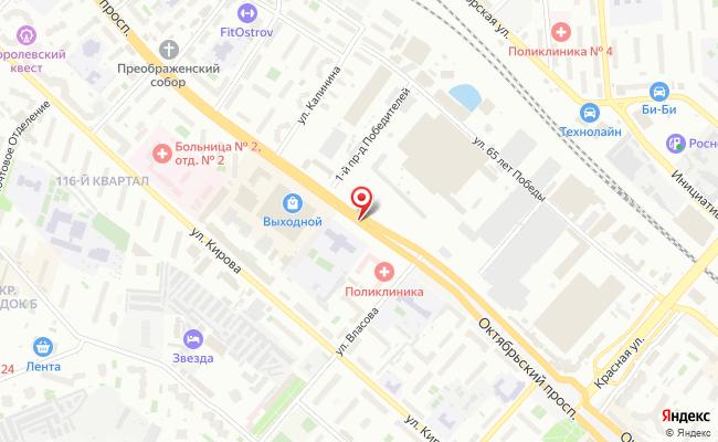 Карта расположения пункта доставки Халва в городе Люберцы