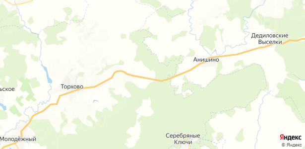 Волынцевский на карте