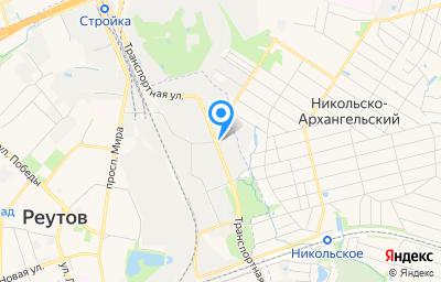 Местоположение на карте пункта техосмотра по адресу Московская обл, г Реутов, ул Транспортная, д 11, пом I