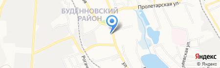 Девятая донецкая государственная нотариальная контора на карте Донецка