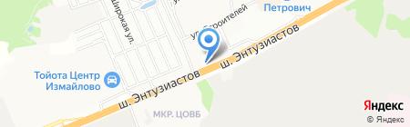 МойCar на карте Балашихи