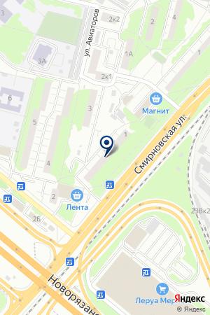 АВАРИЙНО-ДИСПЕТЧЕРСКАЯ СЛУЖБА ЛИФТРЕМОНТ на карте Люберец