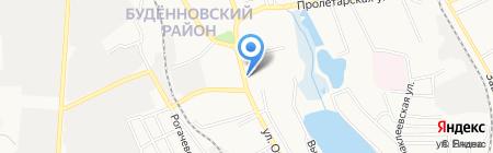 Яна на карте Донецка