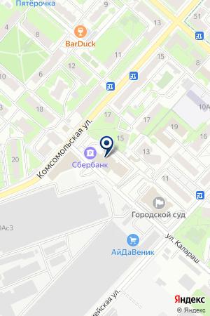 АДВОКАТ ВАСИЛЬЕВ А.Л. на карте Люберец