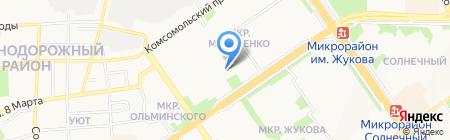 ЛИНИЯ ЗДОРОВЬЯ на карте Старого Оскола