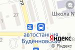 Схема проезда до компании Общественный платный туалет в Донецке