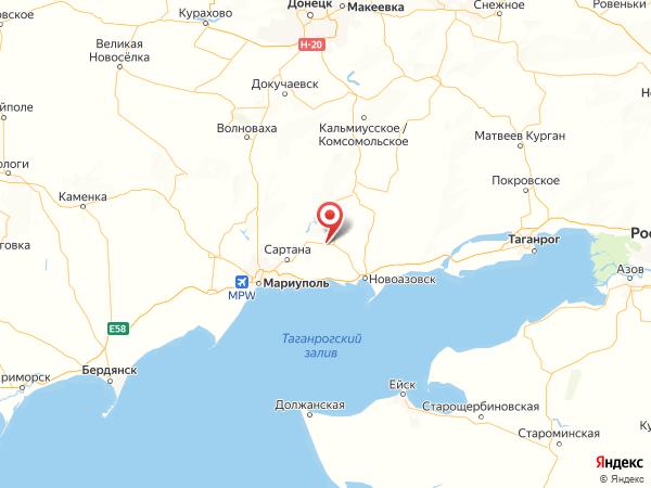 село Куликово на карте