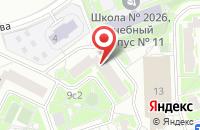 Схема проезда до компании Промсервислайн в Москве