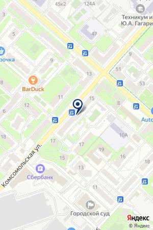ТФ ЭКСКО на карте Люберец
