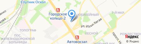 КРОФТ-ОПТИКА на карте Старого Оскола