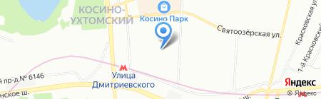 Недвижимость-сервис на карте Москвы