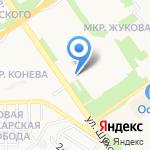 Русская Дверь на карте Старого Оскола