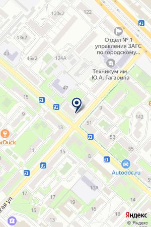 ФИЛИАЛ № 14 на карте Люберец