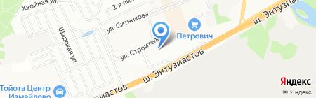 Атак на карте Балашихи